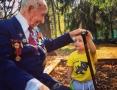 Ваганова Диана. Думал ли дедушка, что доживет до праправнука, когда был на Сталинградской битве в 1942 г - копия