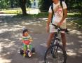Есьман Иван. Гонки на велосипедах
