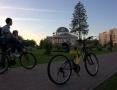 Коянкина Евгения. С папой на велосипеде обогнали свежий ветер